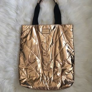 Victoria's Secret Bags - Limited Edition Victoria's Secret Metallic Bag